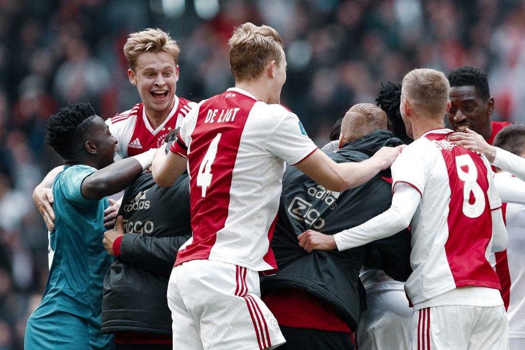 Frenkie de Jong Matthijs de Ligt André Onana Ajax Barcelona
