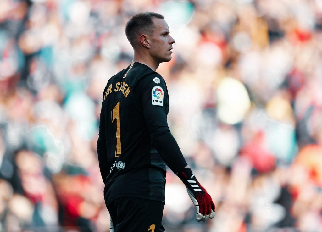 Marc-André Ter Stegen all-time Barcelona XI country