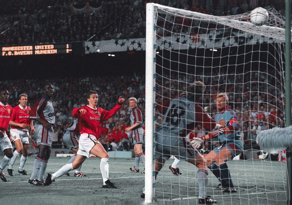 Ole Gunnar Solksjær Manchester United Bayern Munich unforgettable Champions League games