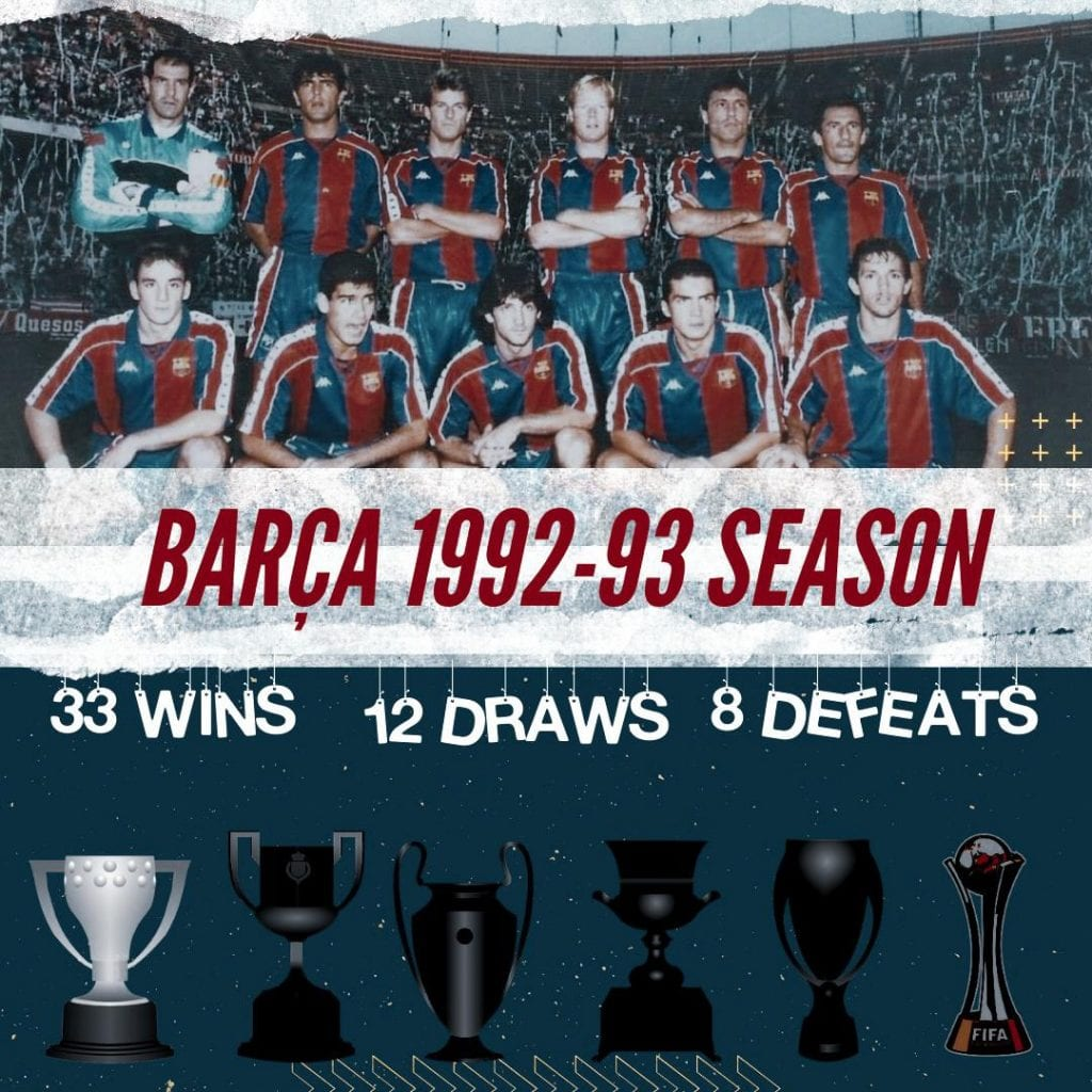 Barça 1992/93 season