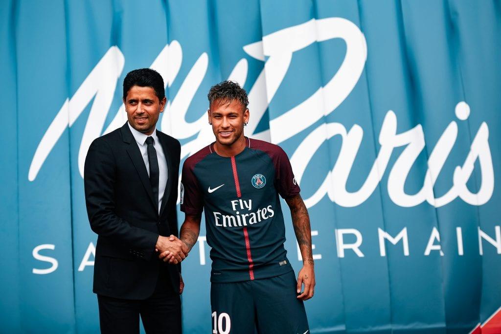 Antoine Griezmann Neymar Júnior Barcelona PSG swap deal