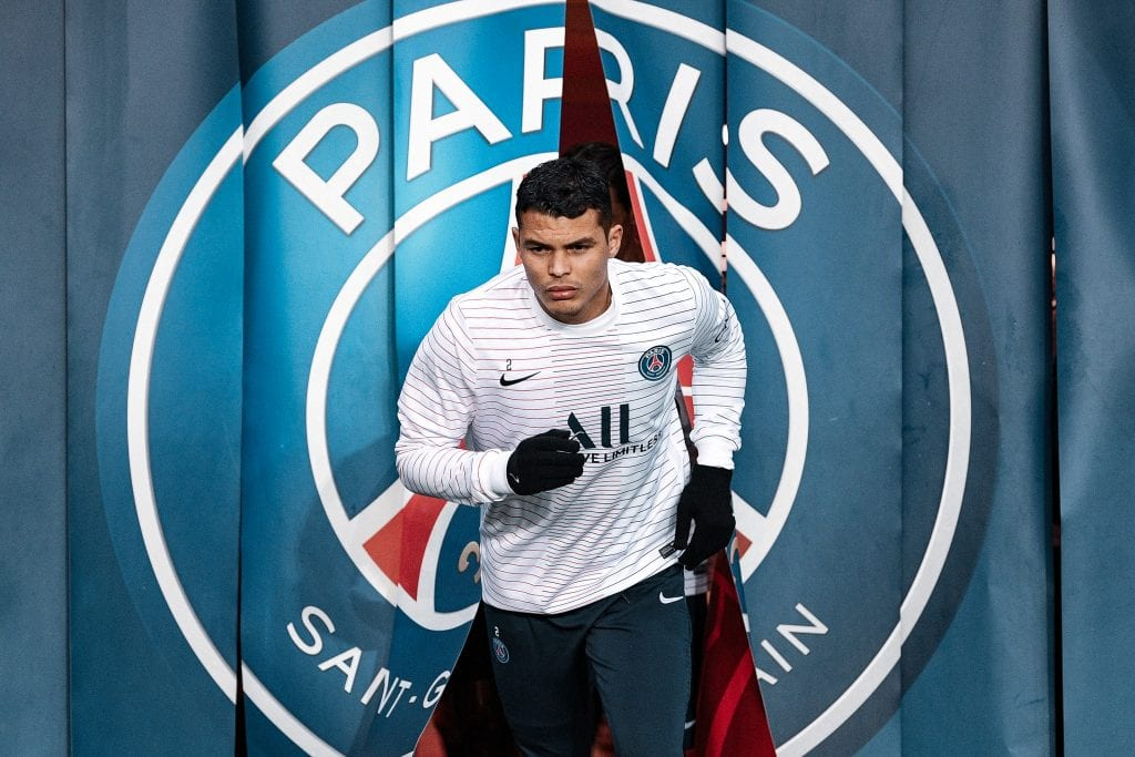 Thiago Silva PSG players out of contract Barcelona