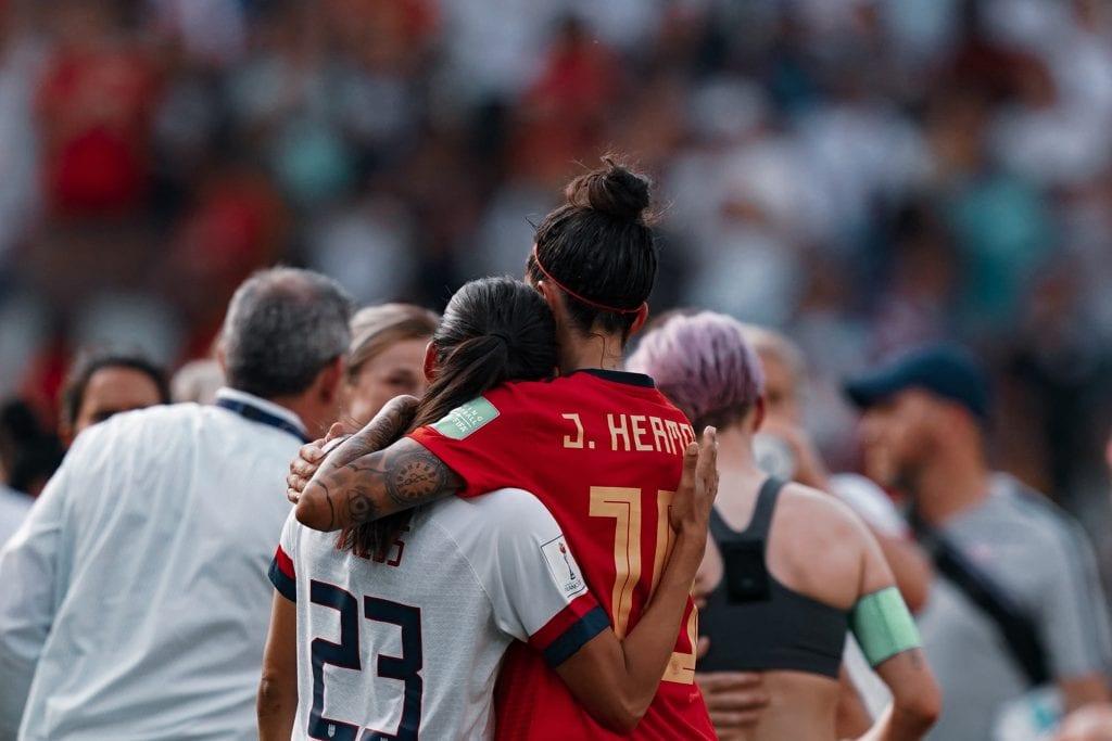 Jennifer Hermoso Spain USA Women's World Cup