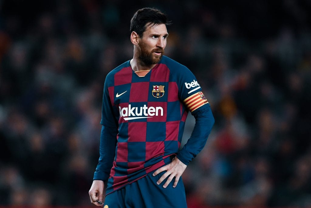Leo Messi all-time Barcelona XI country