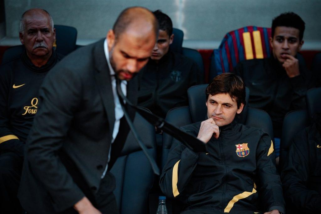Pep Guardiola Tito Vilanova Barcelona etern