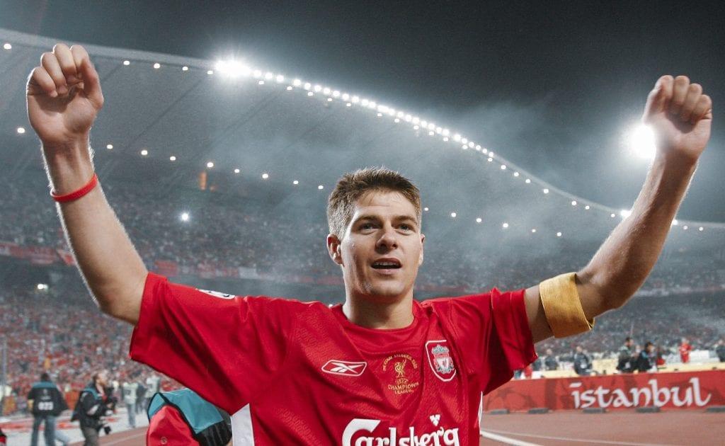 Steven Gerrard Liverpool AC Milan unforgettable Champions League games
