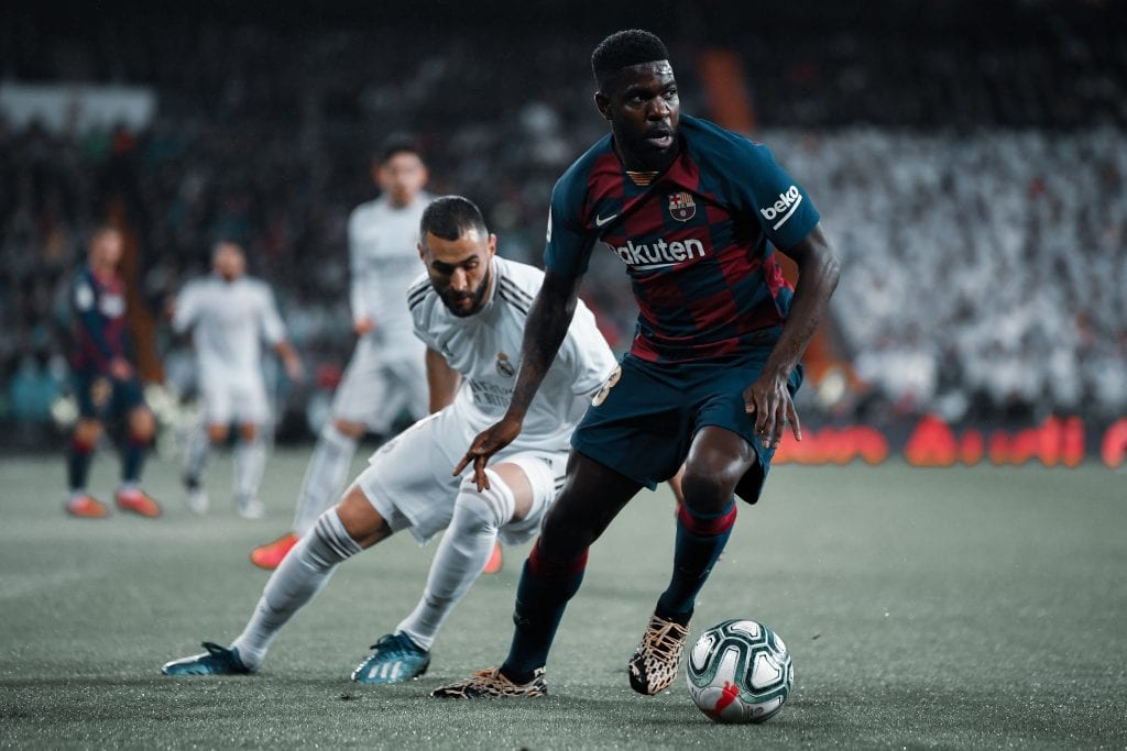 Samuel Umtiti Barcelona Real Madrid transfer