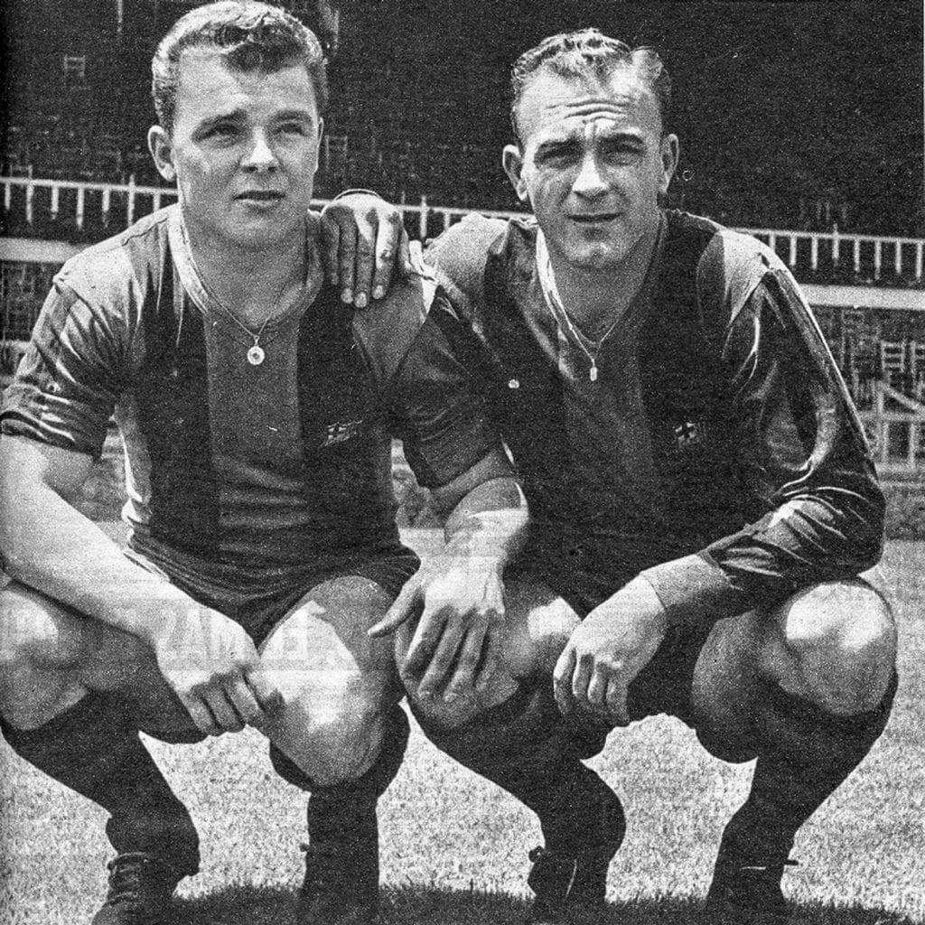 Alfredo di Stéfano László Kubala Barcelona Madrid