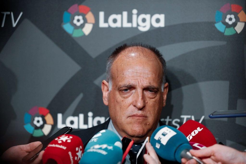 Javier Tebas La Liga June 12