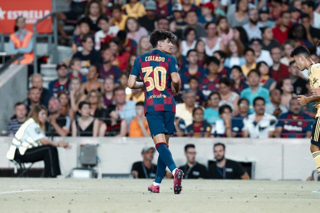 Álex Collado Barça Arsenal Camp Nou renewal
