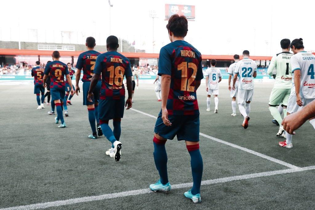 Hiroki Abe Barça B play-offs Segunda