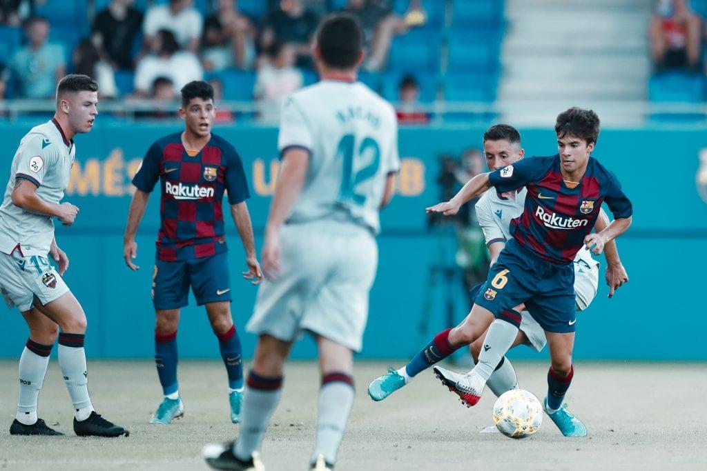 Dani Morer Riqui Puig Barça B type squad