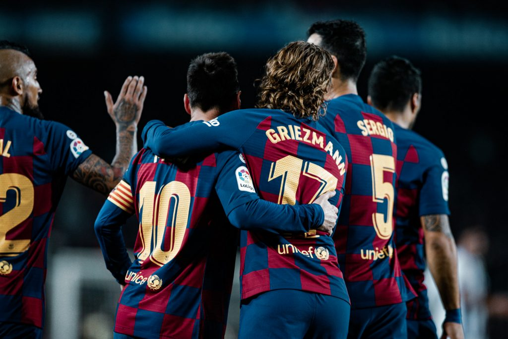 Barça front three