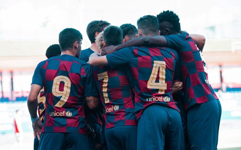 From Víctor Valdés to Franc Artiga: the Juvenil A, league champions