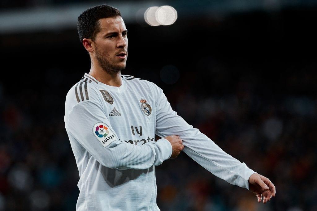 Eden Hazard Real Madrid Barça advantage La Liga