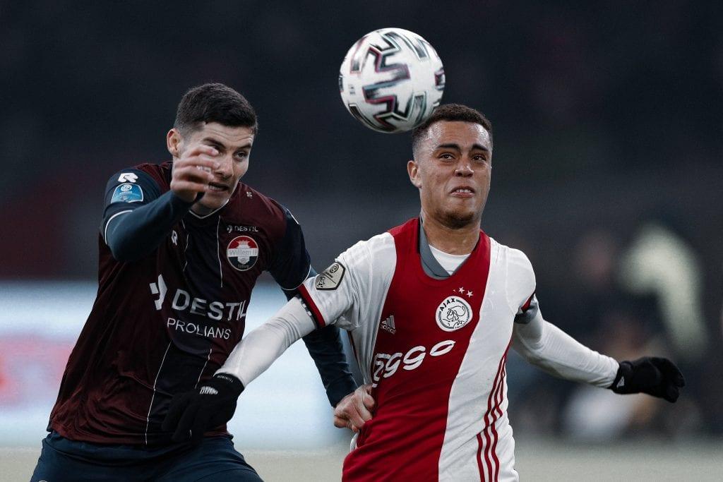 Sergiño Dest Ajax Barça