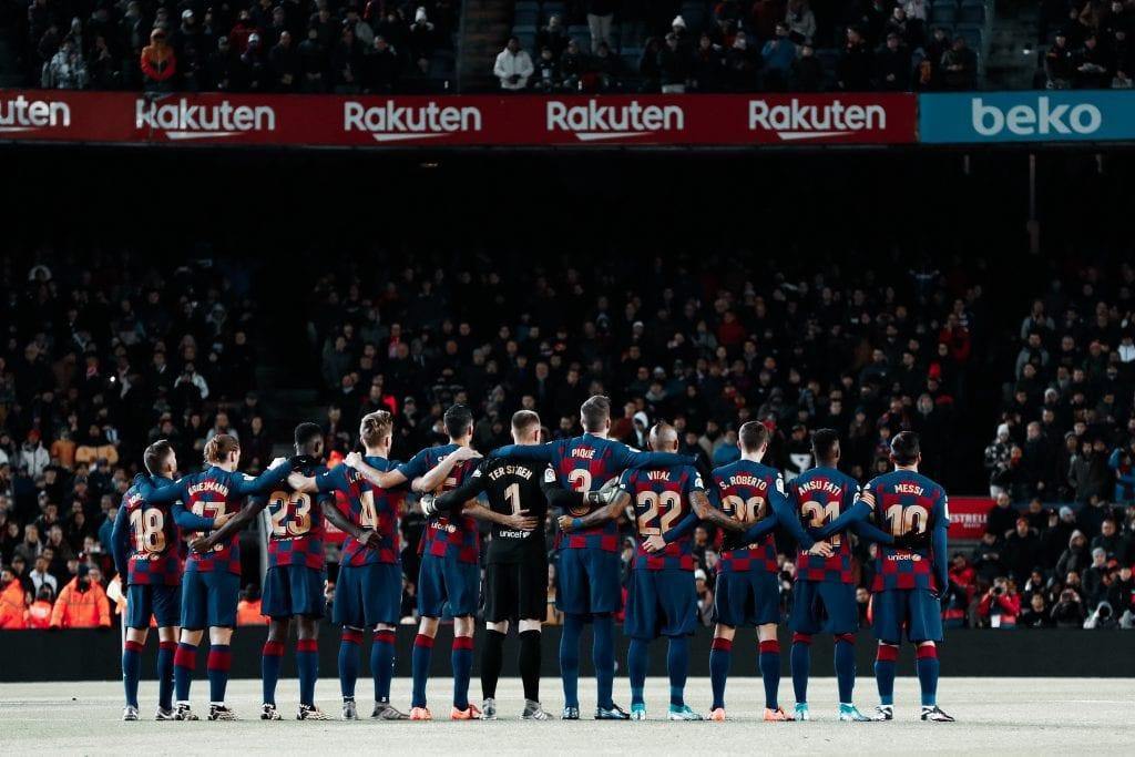 Barça type squad