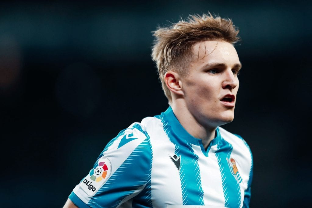 Martin Ødegaard Real Sociedad Barça Real Madrid loan