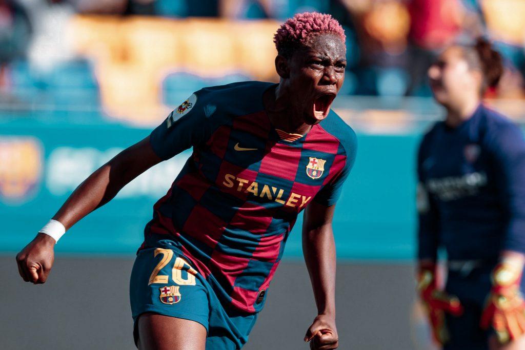 Asisat Oshoala: The powerhouse and sharpshooter of Barça Femení | BU