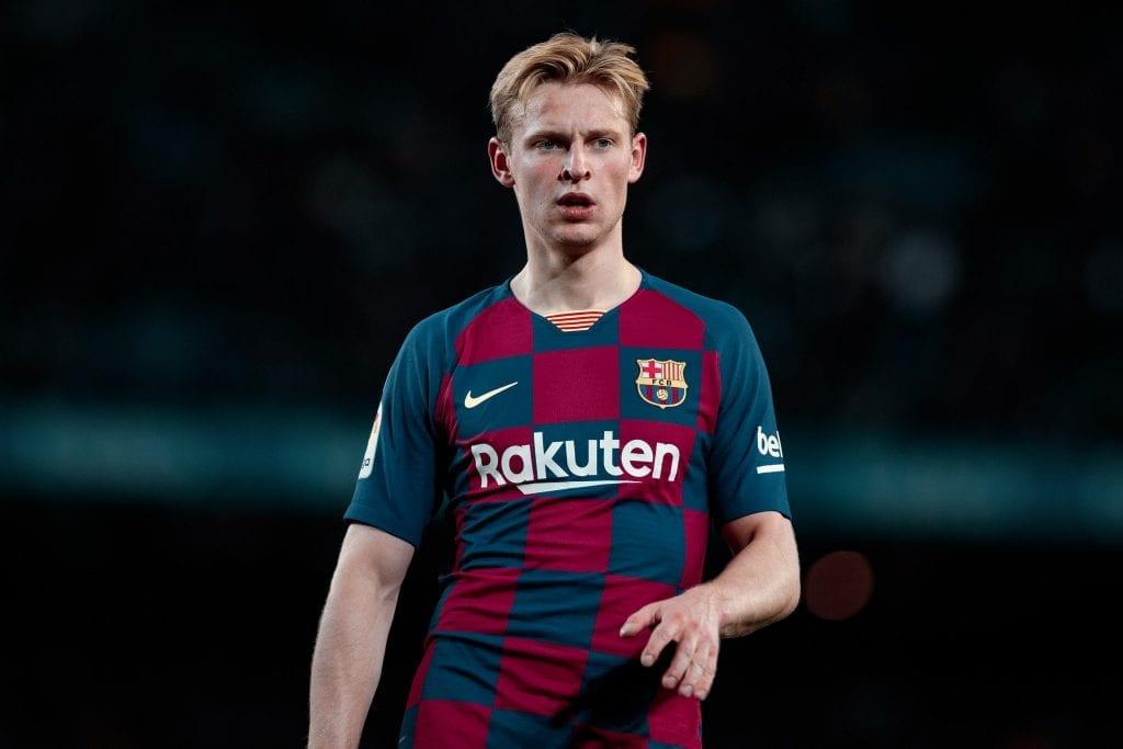Frenkie de Jong Lionel Messi Barcelona workload