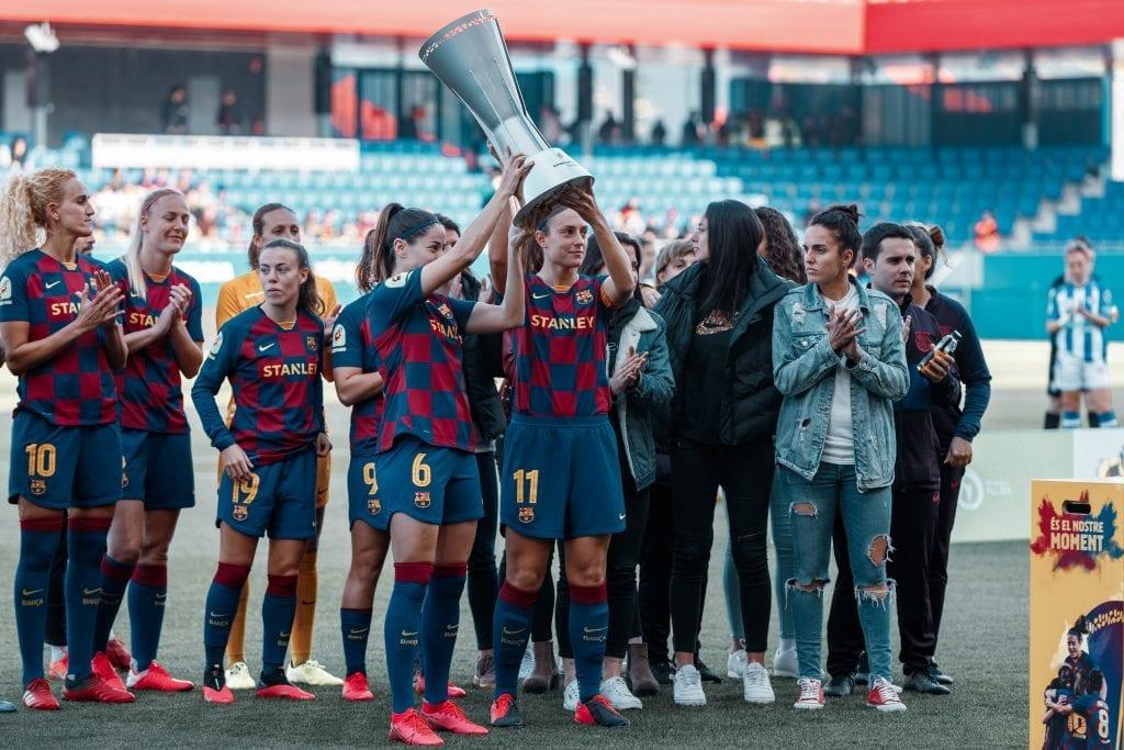 Barça Femení 2019/20 Spanish Primera Iberdrola champions
