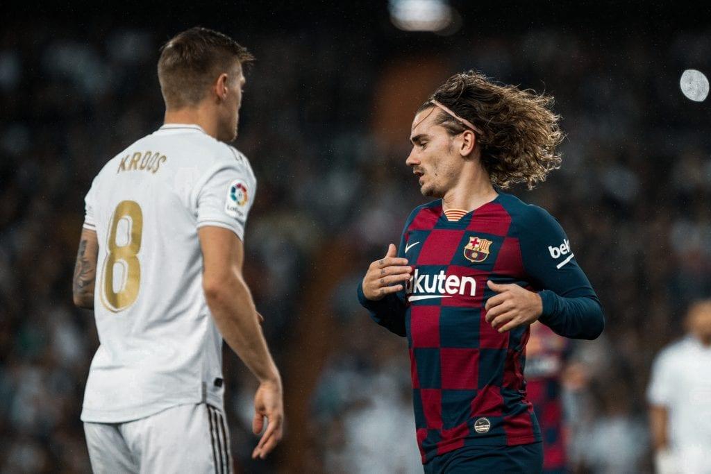 Antoine Griezmann Barcelona Toni Kroos Real Madrid 2019/20
