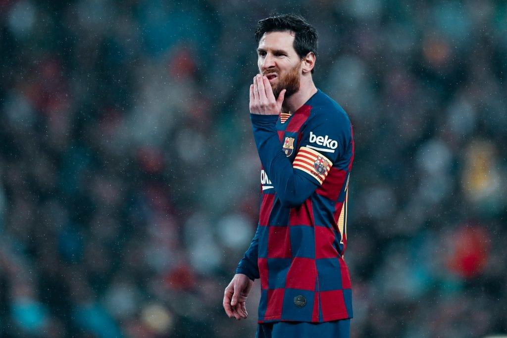 Lionel Messi analysis Barcelona goals
