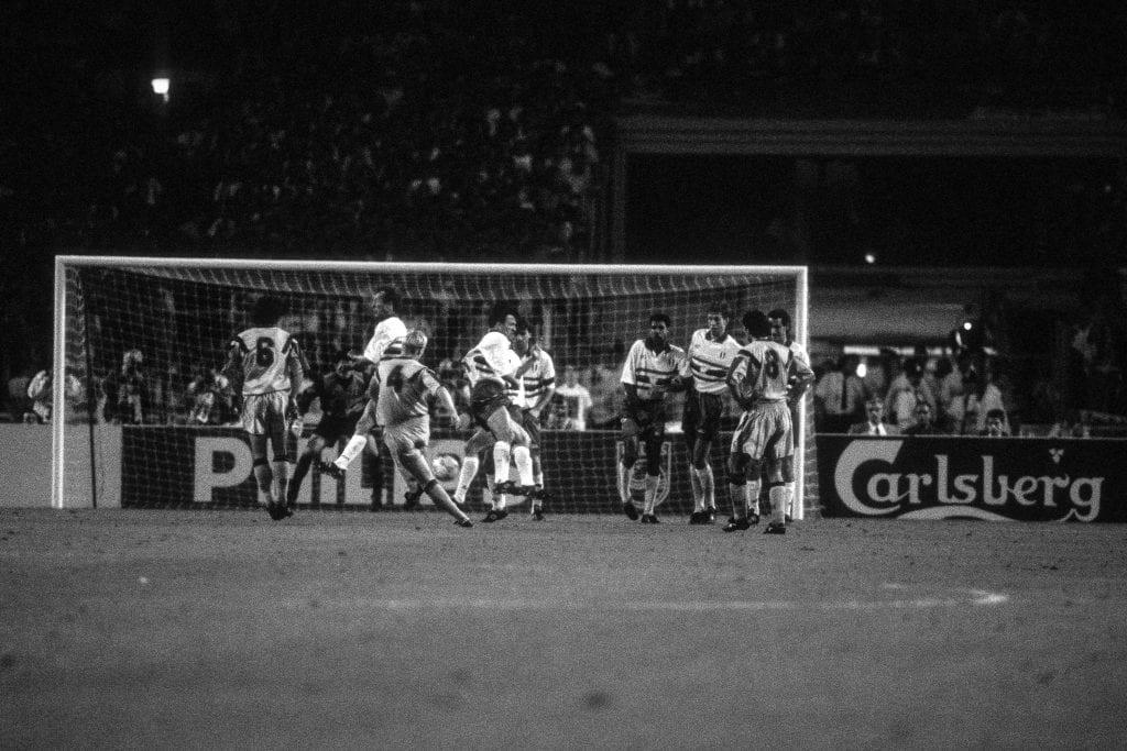 Ronald Koeman Barcelona Sampdoria 1992 European Cup