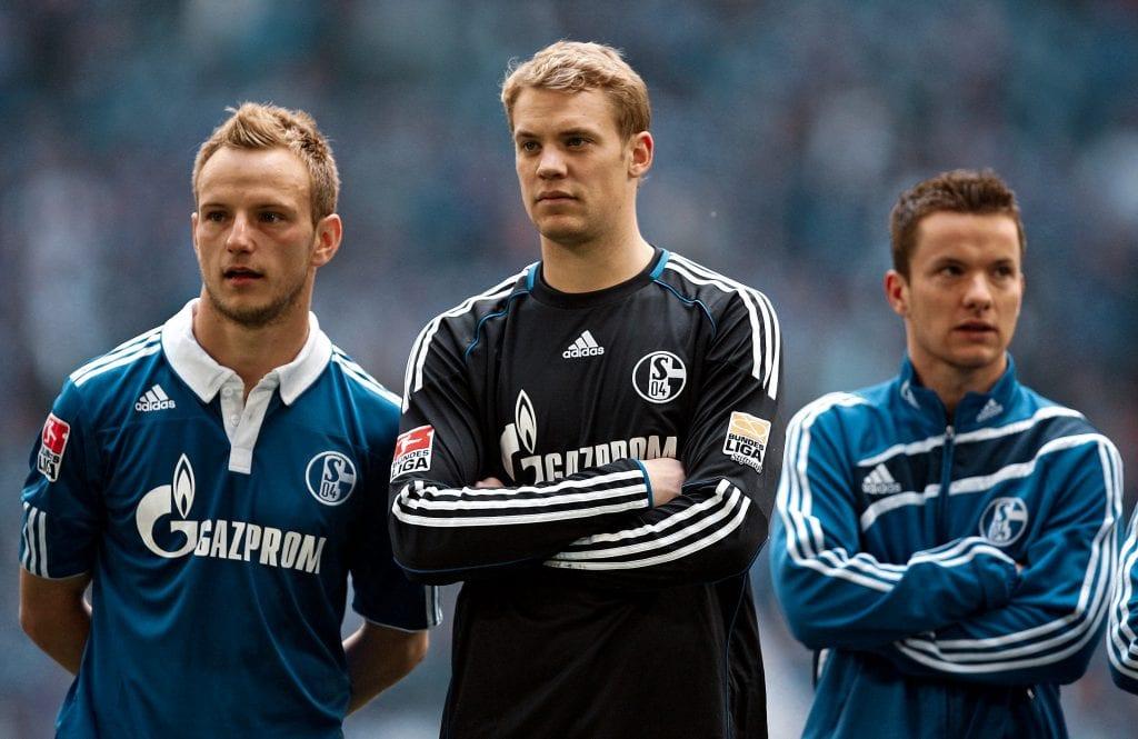 Manuel Neuer Iván Rakitić Schalke 04 Barça