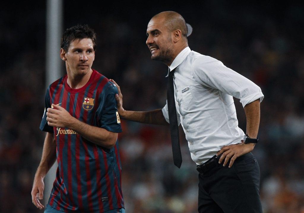Lionel Messi Pep Guardiola false 9