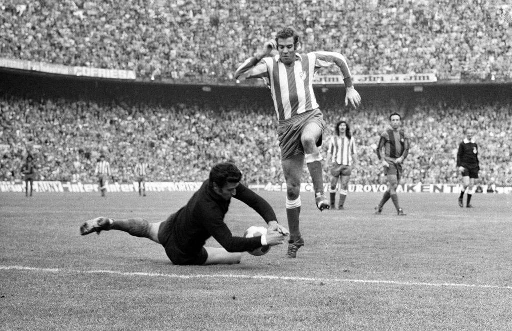 Salvador Sadurní Luis Aragonés Atlético de Madrid Barça best goalkeepers history