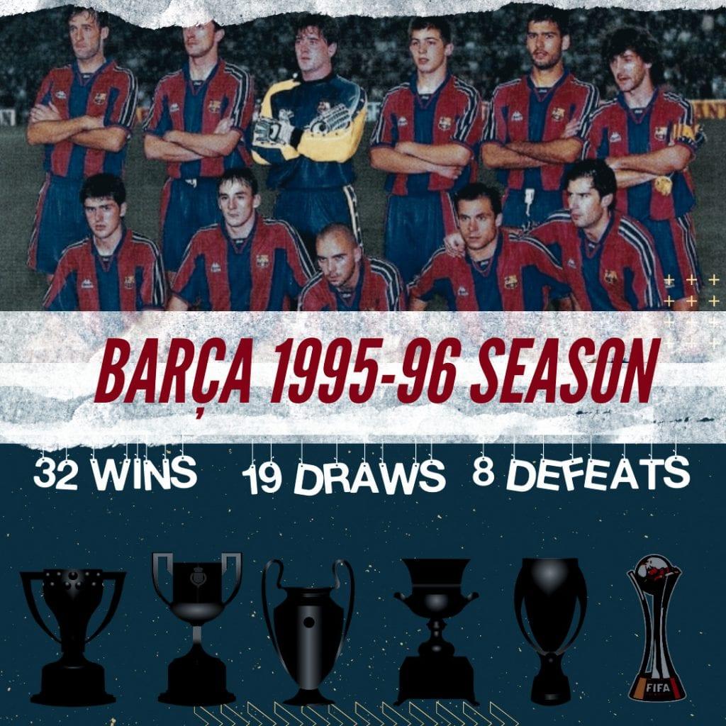 Barça 1995/96 season