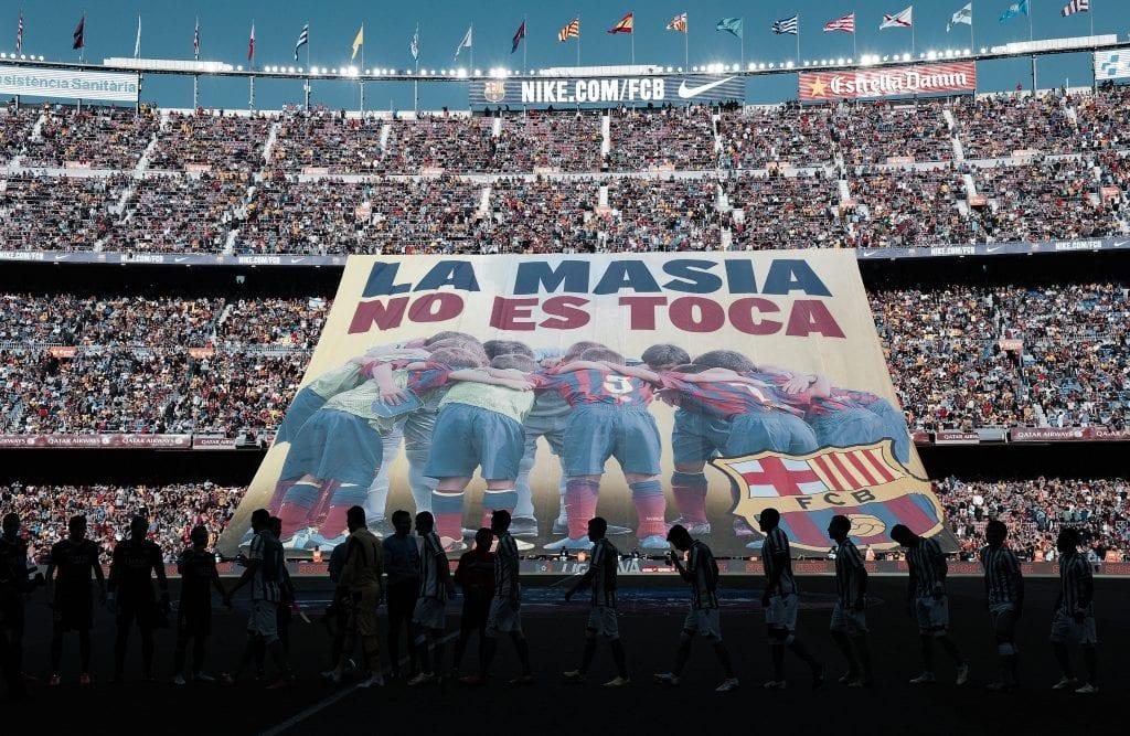 La Masía Barça money