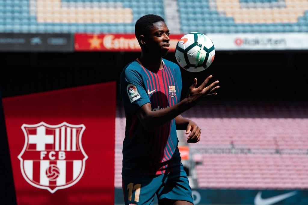 Ousmane Dembélé Borussia Dortmund Barcelona