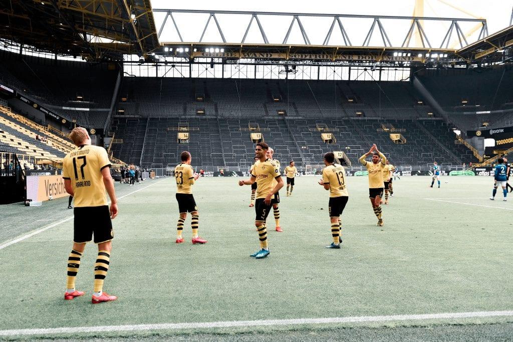 Borussia Dortmund silent derbies