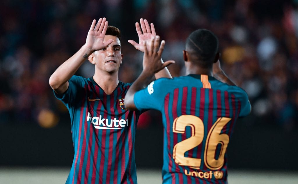 Monchu Rodríguez Malcom Barça midfielder