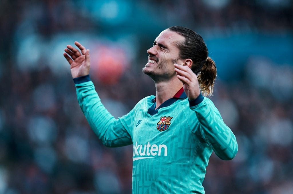 Antoine Griezmann Lionel Messi Barcelona workload