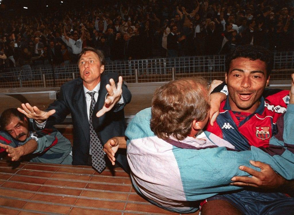 Johan Cruyff Romário Barça
