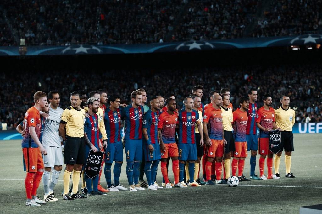 Barcelona Manchester City Camp Nou Champions League big spender