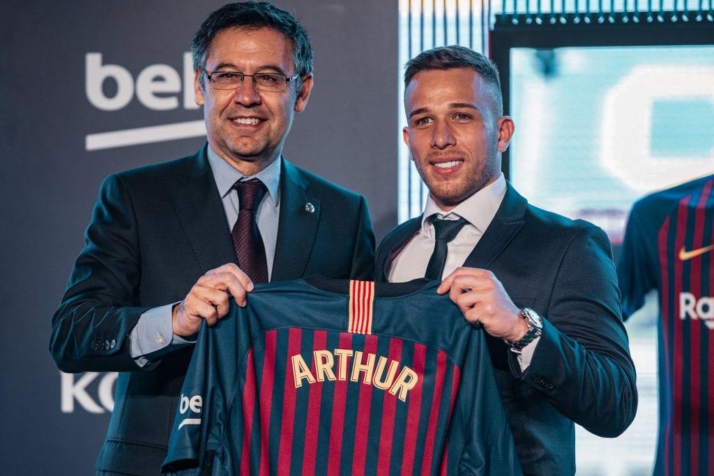 Josep Maria Bartomeu Arthur Melo Barça board