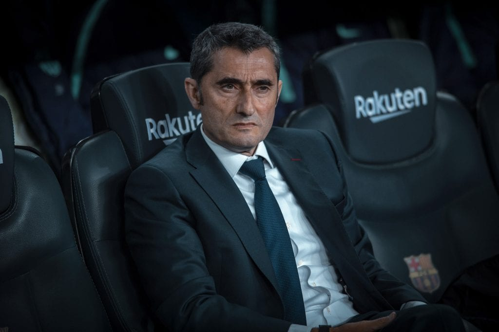 Ernesto Valverde Barcelona dressing room politics