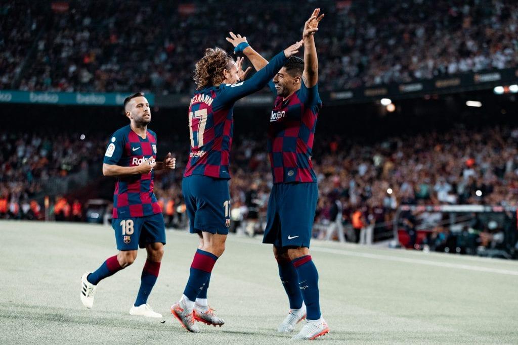 Antoine Griezmann Luis Súarez Barça dysfunctional attack