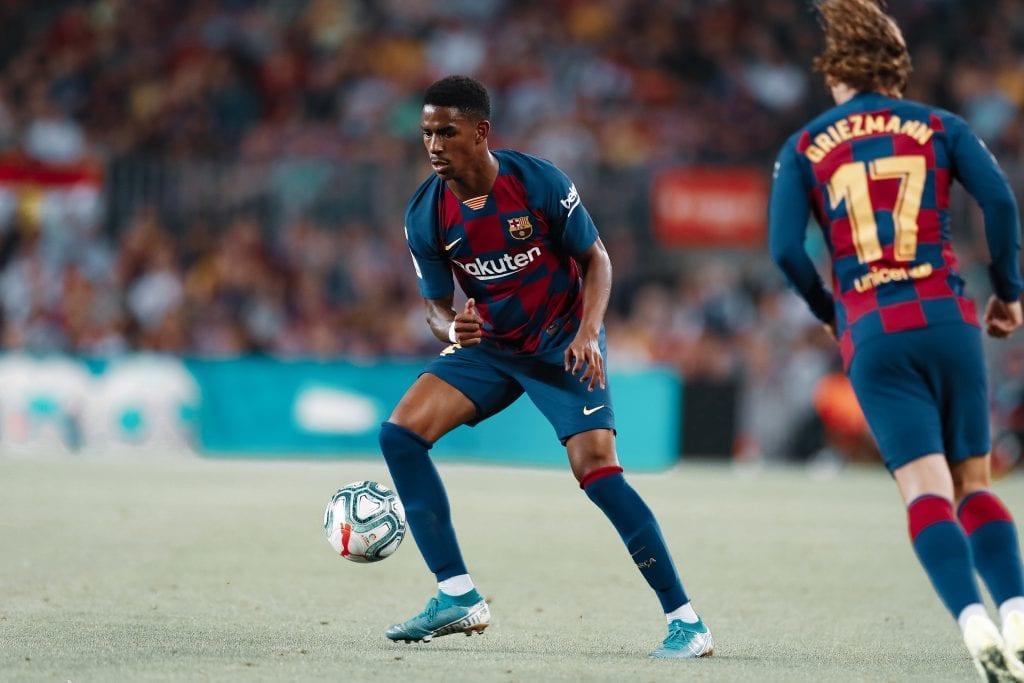 Junior Firpo Barcelona Leganés line-up