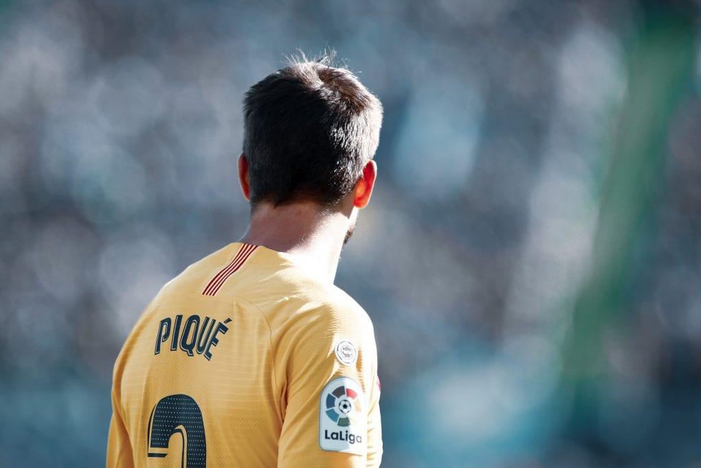 Gerard Piqué Barcelona improved defence