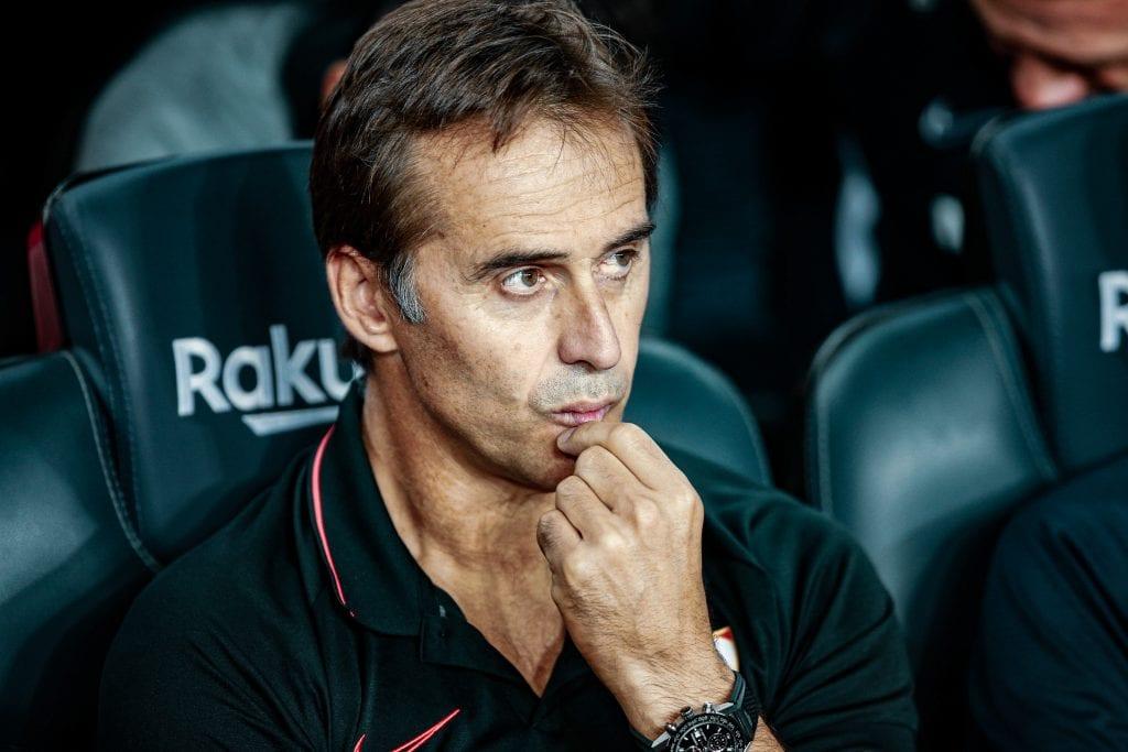 Julen Lopetegui Sevilla tactical analysis