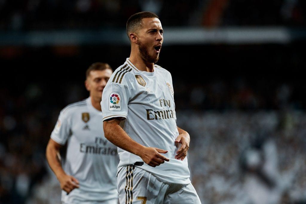 Eden Hazard Real Madrid Barça Sevilla league