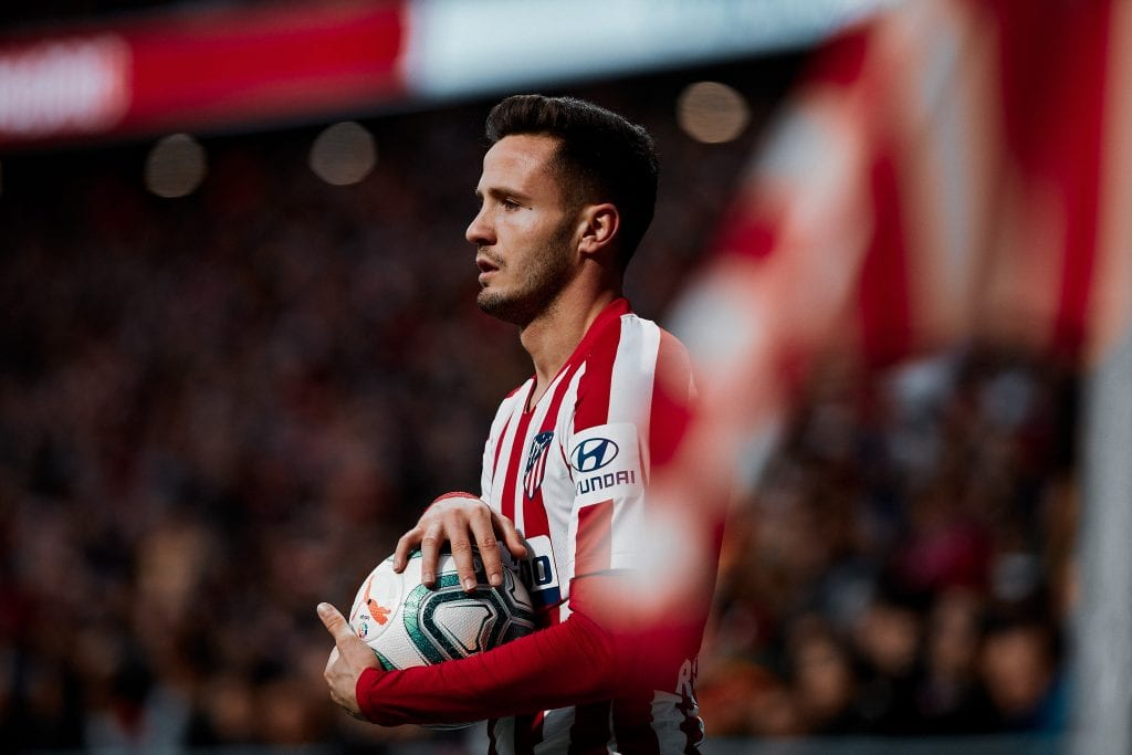 Saúl Ñíguez Atlético de Madrid tactical analysis