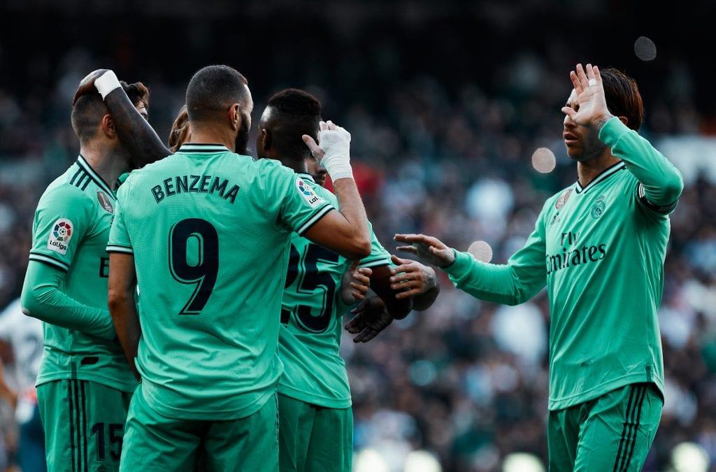 Karim Benzema Vinícius Júnior Sergio Ramos Real Madrid RCD Espanyol La Liga best games