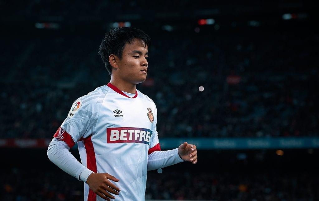 Takefusa Kubo Camp Nou Mallorca Barcelona match preview
