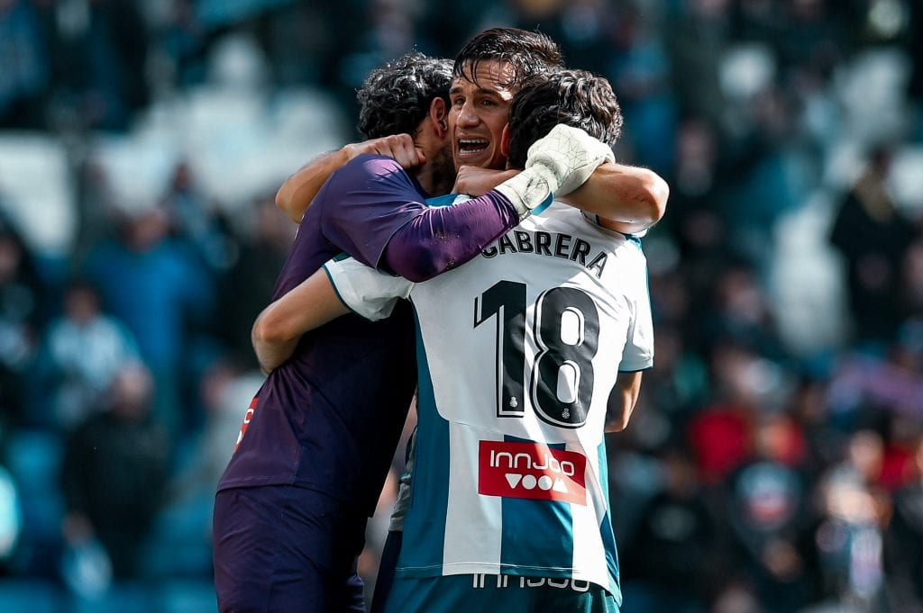 Diego López Bernardo Espinosa Leandro Cabrera RCD Espanyol RCD Mallorca La Liga relegation battle